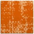 rug #1077682 | square red-orange faded rug