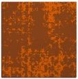 rug #1077686 | square red-orange faded rug