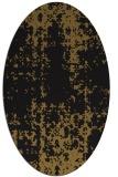 rug #1077798 | oval faded rug