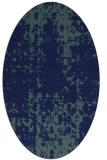 rug #1077818   oval blue popular rug