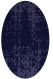 rug #1077866 | oval blue-violet traditional rug