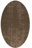 rug #1077888   oval faded rug