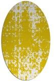 rug #1077968 | oval faded rug