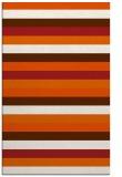 rug #107797 |  red-orange retro rug