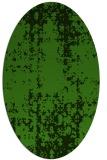 rug #1078062 | oval light-green rug