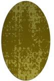 rug #1078114 | oval light-green faded rug