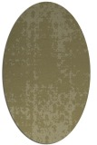 rug #1078118 | oval light-green graphic rug