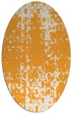 rug #1078142 | oval white faded rug