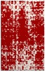 rug #1078398 |  red graphic rug
