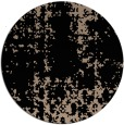 rug #1078526 | round black faded rug