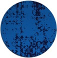 rug #1078546 | round blue faded rug
