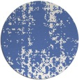rug #1078562 | round blue traditional rug