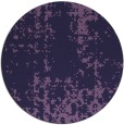 rug #1078614 | round purple faded rug