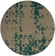 rug #1078633   round faded rug