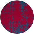 rug #1078639 | round faded rug