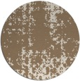 rug #1078670 | round mid-brown traditional rug