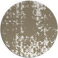 rug #1078674 | round mid-brown traditional rug