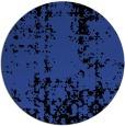 rug #1078714 | round black faded rug