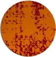rug #1078718 | round red-orange traditional rug