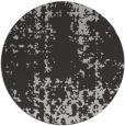 rug #1078730 | round red-orange graphic rug