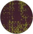 rug #1078754 | round purple traditional rug