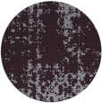 rug #1078762 | round purple traditional rug
