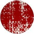 rug #1078766 | round red popular rug