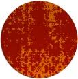 rug #1078770   round orange faded rug