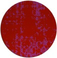 rug #1078778 | round red graphic rug