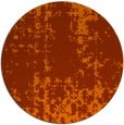 rug #1078782   round red-orange rug