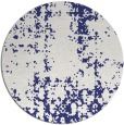 rug #1078810 | round white traditional rug