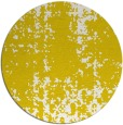 rug #1078838 | round yellow faded rug
