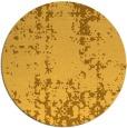 rug #1078842 | round light-orange faded rug