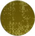 rug #1078850 | round light-green rug