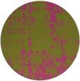 rug #1078858 | round light-green graphic rug