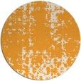 rug #1078878 | round light-orange faded rug