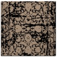 rug #1079262 | square black damask rug
