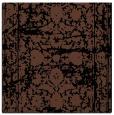 rug #1079266 | square brown damask rug