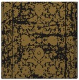 rug #1079270 | square mid-brown damask rug