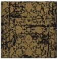 rug #1079278 | square black damask rug