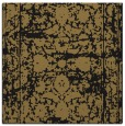 rug #1079278 | square brown damask rug
