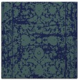 rug #1079290 | square blue damask rug