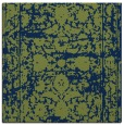 rug #1079294 | square blue faded rug
