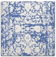 rug #1079298 | square blue faded rug