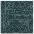 rug #1079326 | square blue-green faded rug