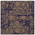 rug #1079358 | square blue-violet damask rug