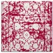 rug #1079370 | square red faded rug