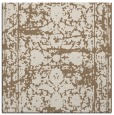 rug #1079406 | square mid-brown faded rug