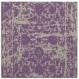 rug #1079434   square purple traditional rug