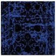 rug #1079450 | square black damask rug